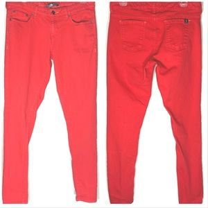 The North Face Faded Red Skinny Pants Size 6